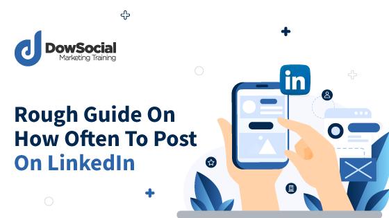 Blog cover how often to post on LinkedIn