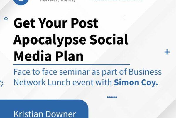 Post lockdown face to face Social Media Seminar